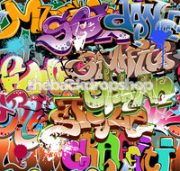 Graffiti Backdrop for Photography - Photoshoot Backdrop - Item 1402