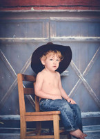 Barn Door Backdrop for Photography - Red Barn Photo Back Drop for Engagement and Family Portraits - Item 1483