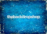Blue Grunge Photography Backdrop - Item 1584