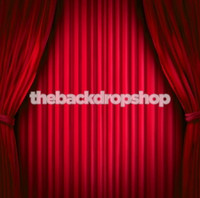 Hollywood Red Curtain Theme Photo Backdrop - Item 1588