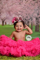 Cherry Blossom Tree Photography Backdrop - Pink Tree Photo Backdrop - Item 1654