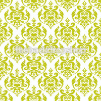 Green Damask Backdrop - Item 1665