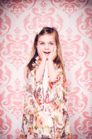 Pink Damask Photography Backdrop - Item 1666