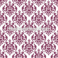 Purple Damask Photography Backdrop - Item 1668