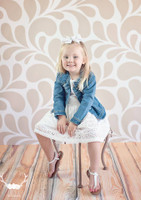 Brown Swirl Pattern Photography Backdrop for Weddings - Item 1697