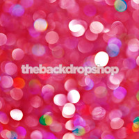 Pink Sparkle Lights Photography Backdrop - Pink Bokeh Photo Backdrop - Birthday Photo Drop - Item 1776