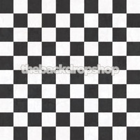 Black and White Tile Floor Drop for Photos – Checkerboard Tile Photography Backdrop - Checkered Tile Floordrop -  Item 1802