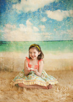 Beach Scene Photography Backdrop - Item 1867