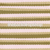 Layered Pink and Brown Paper Strip Photography Prop - Item 2058