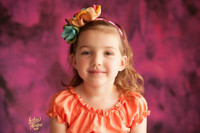Pink and Purple Watercolor Painting Photography Backdrop - Magenta Brush Strokes Photo Back Drop - Exclusive Design! - Item 2099