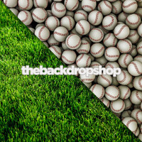 Baseballs / Green Grass - Items 1045 & 106