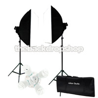 2000w Photo Studio Continuous Lighting Kit - Photography Softbox Light Stand - Photography Studio Equipment