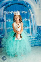Frozen Backdrop - Ice Castle Backdrop - Photo Backgrounds for Christmas - Item 2148