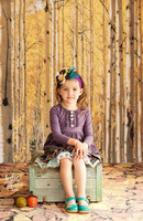 Vinyl Backdrop -Trees Photography Backdrop - Forest Backdrop - Vinyl or Poly Photo Backdrop - Item 2146