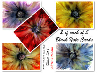 Floral 1 Note Cards - Set of 10
