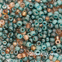 Sand & Sea Seed Bead Mix - 250g