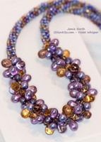 Violet Whisper Necklace Kit