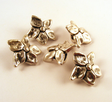 Large Flower sliders AS for Licorice Leather