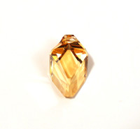 Cubist Pendant - Crystal Golden Shadow