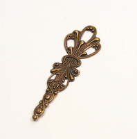 Openwork Stamping 56.5mm - Oxidized Brass
