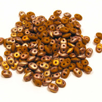 SuperDuo Op Chocolate Capri Gold Matte
