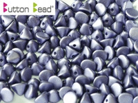 Button Beads - Alabaster Lavender
