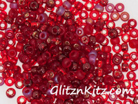 Ravenous - Sz 8 Seed Bead Mix