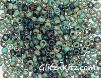 Picasso Marina - Sz 8 Seed Bead Mix