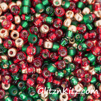Christmas Morning - Sz 8 Seed Bead Mix