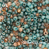 Sand & Sea - Sz 8 Seed Bead Mix