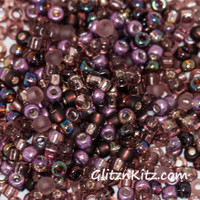Amazing Amy - Sz 8 Seed Bead Mix
