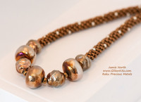 Raku Precious Metals Necklace Kit