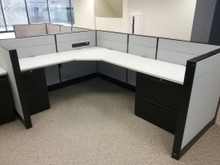 "40 Used 42""H Teknion Leverage 6x6 or 6x8 Cubicles"