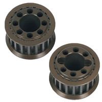ARC 18T Belt Pulley-Aluminum (2 pcs)