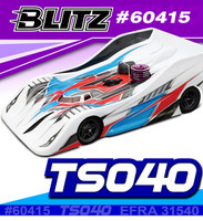 BLITZ 1/8 On Road Racing Body TS040 (0.8mm)