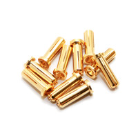 Maclan MAX CURRENT 5mm Gold Bullet Connectors (10 pcs)
