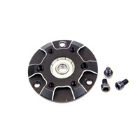 Maclan MR4 Front Motor Cap with Bearing Installed with Screws