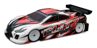 BLITZ GSF II 190MM TOURING CAR BODIES (0.7mm)
