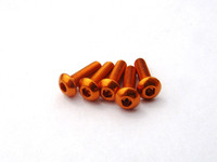 Hiro Seiko Alloy Hex Socket Button Head Screw [Orange]