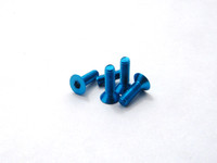 Hiro Seiko Alloy Hex Socket Flat Head Screw  [T-Blue].
