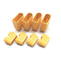 Maclan XT90 connectors (4 Male)