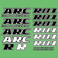 ARC R8.1 Decal