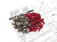 Hiro Seiko IF14 Titan/Alum Hex Socket Screw Set