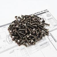 Hiro Seiko XB4'18 Titanium Hex Socket Screw Set
