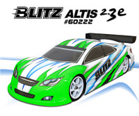 BLITZ ALTIS 2.3e 1/10 190mm Touring Car Bodyshell (0.8mm)