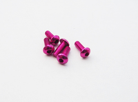 Hiro Seiko Alloy Hex Socket Button Head Screw [Pink]