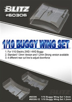 BLITZ 1/10 Buggy Wing Set