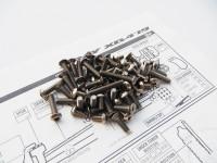Hiro Seiko XRAY  XB4'19 Titanium Hex Socket Screw Set