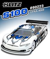 BLITZ S100 1/10th Touring Car Body (0.7mm)