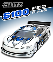 BLITZ S100 1/10th Touring Car Body (0.8mm)